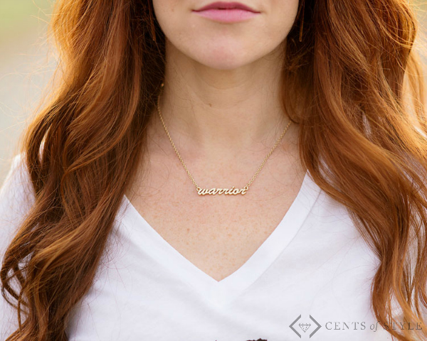 Script Tribe Necklace $9.99