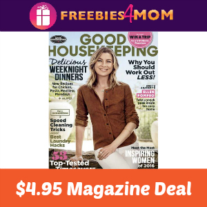 Magazine Deal: Good Housekeeping $4.95