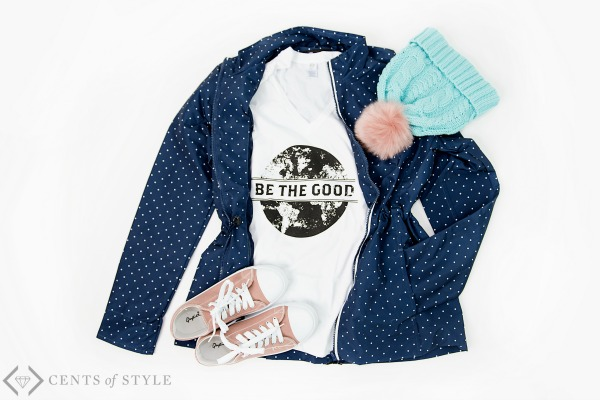 50% off Be the Good Shirts & Necklaces