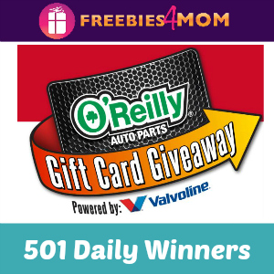 Sweeps O'Reilly Auto Parts Gift Cards