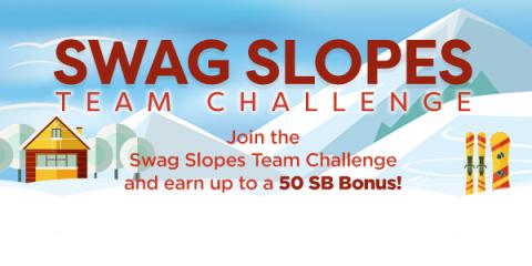 Swagbucks: Swag Slopes Team Challenge