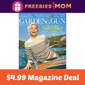 Magazine Deal: Garden & Gun $4.99