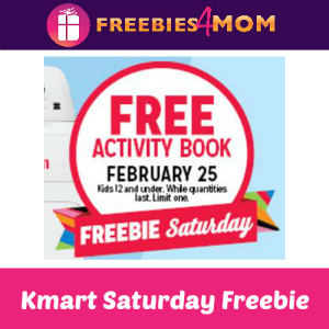 Free Activity Book at Kmart Feb. 25
