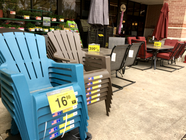 Captivating Iu0027ve Got My Eye On The Colorful Adirondack Chairs For $16.99 Because They  Are Such An Easy (and Affordable) Way To Spruce Up Your Patio Or Deck For  Spring!