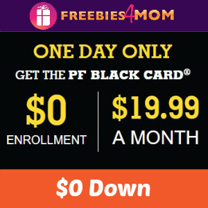 Planet Fitness Black Card Membership For $0 Down