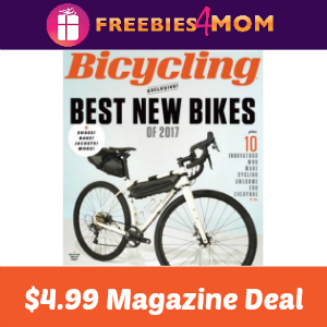Magazine Deal: Bicycling $4.99