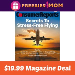 Magazine Deal: Consumer Reports $19.99
