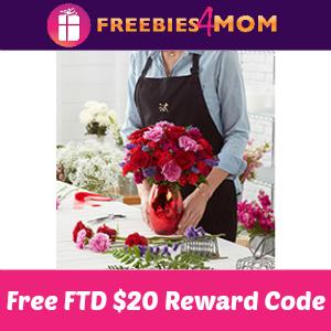 Free $20 FTD Rewards Code