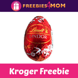 Free Lindt Lindor Chocolate Egg at Kroger