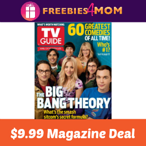 Magazine Deal: TV Guide $9.99