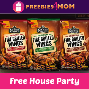 Free House Party: Cooked Perfect Wings