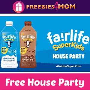 Free House Party: fairlife SuperKids Milk