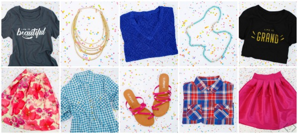 Cents of Style 10 Items for $10 Each