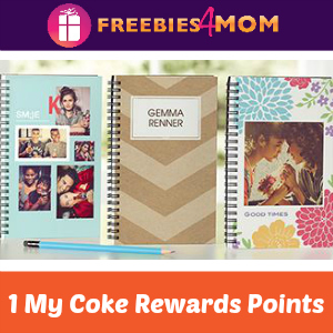 Personalized Notebook for 1 My Coke Rewards