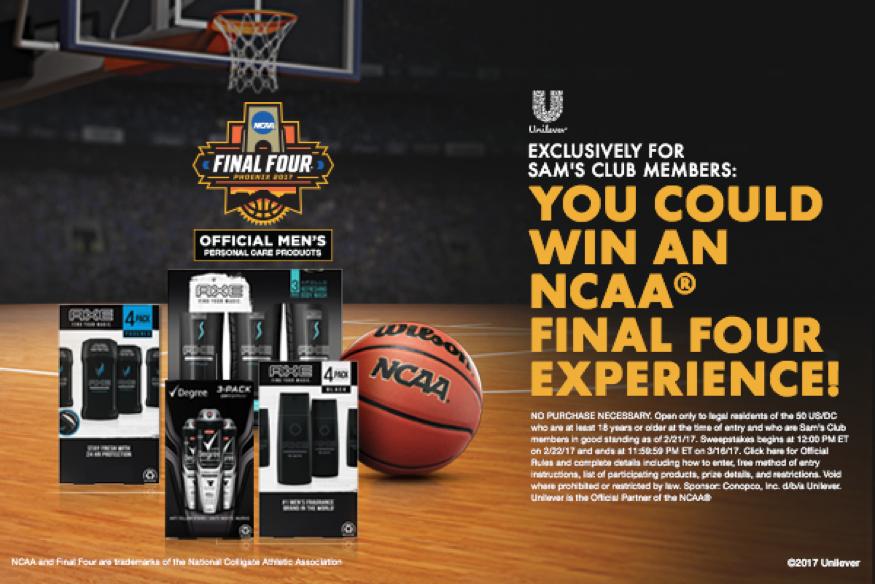 NCAA® Final Four® Sweepstakes