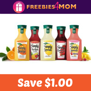 Coupon: $1.00 off one Simply Beverages