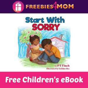 Free Children's eBook: Start with Sorry