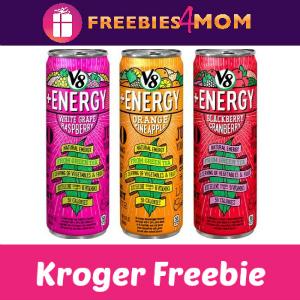 Free V8 +Energy at Kroger