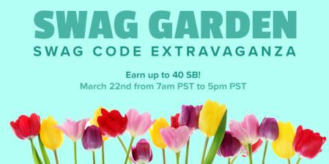 Swagbucks: Swag Garden Swag Code Extravaganza