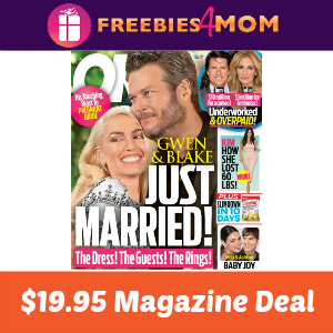 Magazine Deal: OK! $19.95
