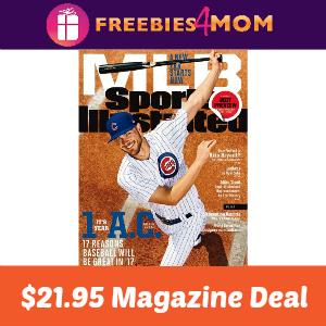 Magazine Deal: Sports Illustrated $21.95