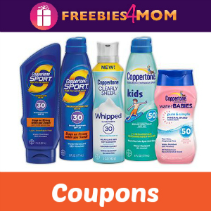 Coupons: Save on Coppertone