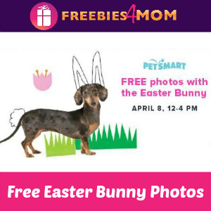 Free Pet Photo with Easter Bunny
