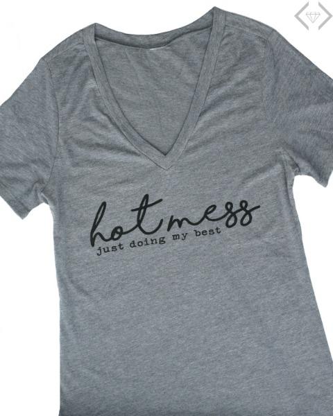 $15.95 Hot Mess T-shirt
