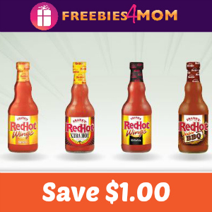 Coupon: $1.00 off any Frank's RedHot Sauce