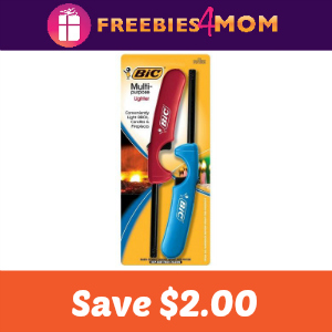 Coupon: $2.00 off any BIC Multi-Purpose Lighter