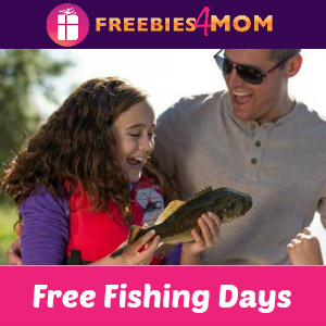 Free Fishing Days