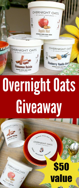Overnight Oats Giveaway ~ Support Overnight Oats on Kickstarter