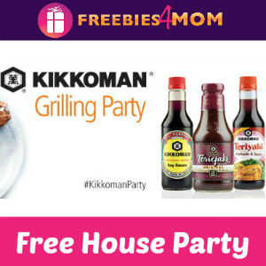 Free House Party: Kikkoman Grilling