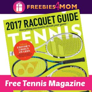 Free Tennis Magazine (1 year, $10 value)