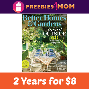 $8 for 2 Years of Better Homes & Gardens