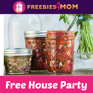 Free House Party Ball Canning Made to Share