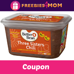 Free Tub of Better Beans (by coupon in mail)