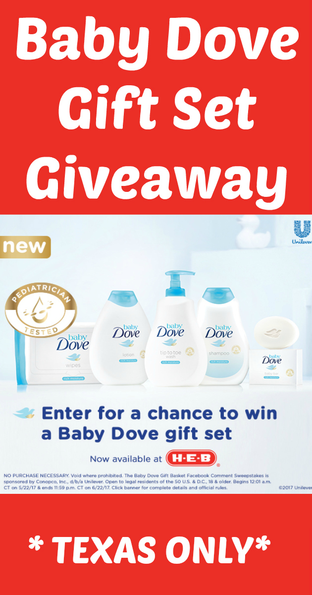 Baby Dove Gift Set Giveaway
