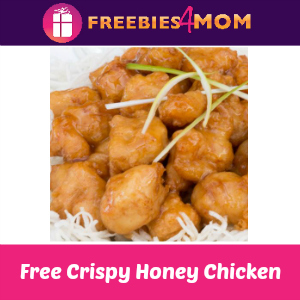Free Crispy Honey Chicken at P.F. Chang's TODAY