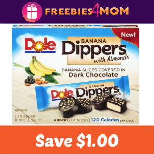 Coupon: $1.00 Off One Box of Dole Dippers