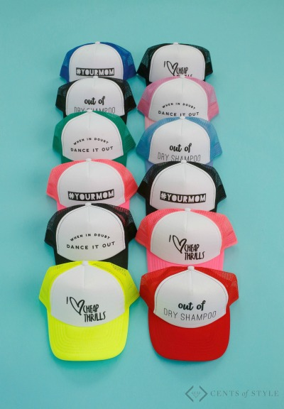 Trucker Hats $14.95