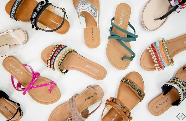 Sandals 2 for $22
