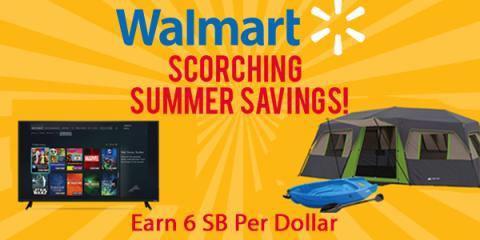 Save at Walmart thru Swagbucks