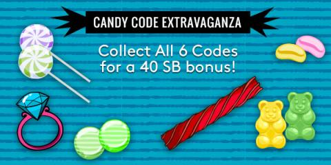 Swagbucks Candy Code Extravaganza