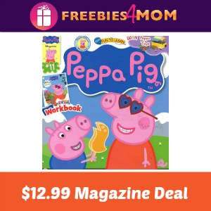 Magazine Deal: Peppa Pig $12.99 (thru Monday)