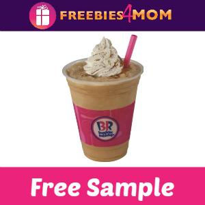 Free Sample Cappuccino Blast at Baskin-Robbins