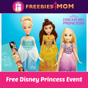 Free Disney Princess Event at Toys R Us