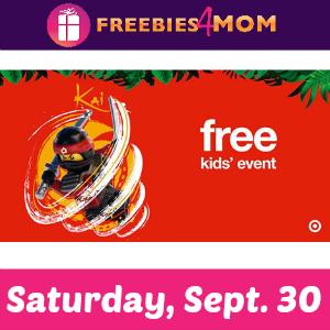 Free Lego Ninjago Movie Event at Target