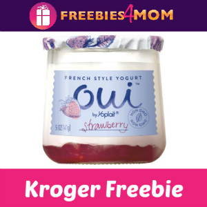 Free Yoplait Oui Yogurt at Kroger