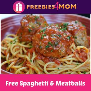 Free Spaghetti & Meatballs at Carrabba's